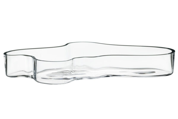 Iittala Alvar Aalto Schaal - 50 x 380 mm - Helder