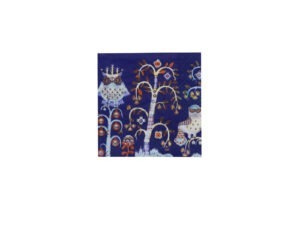 Iittala Taika Papieren servetten - 33 cm - Blauw