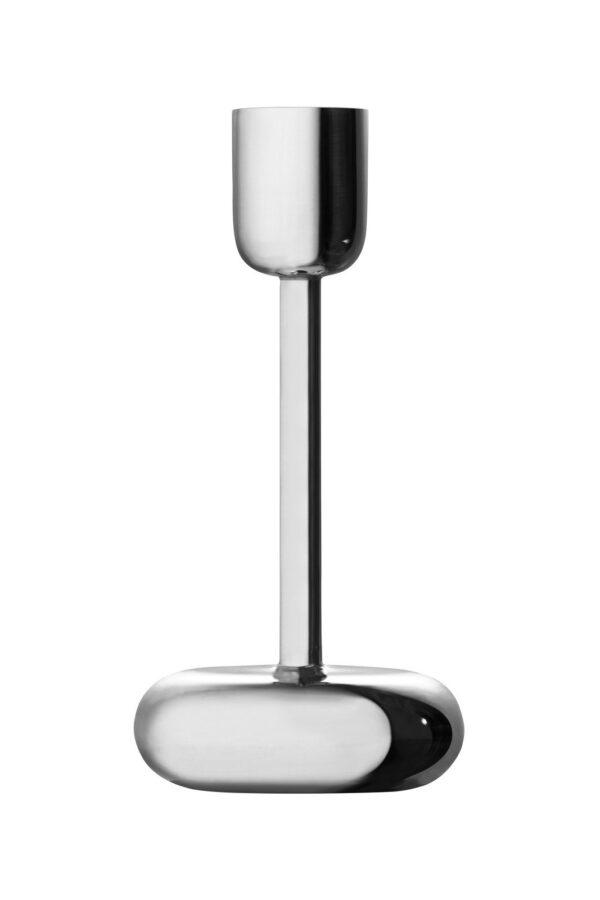 Iittala Nappula Kaarzenstandaard - 183 mm - Zilver