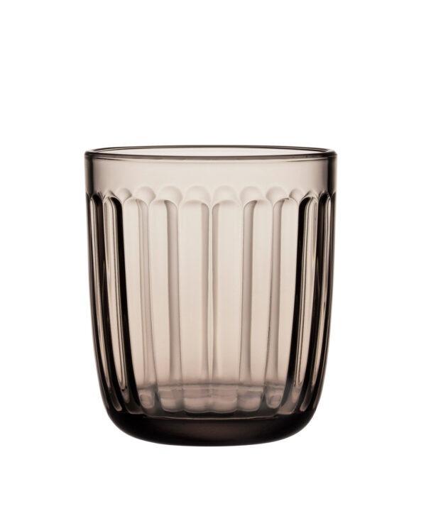 Iittala Raami Glas - 26 cl - Linnen - 2 Stuks