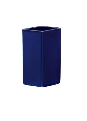 Iittala Ruutu Vaas Keramisch - 180 mm - Dark blue