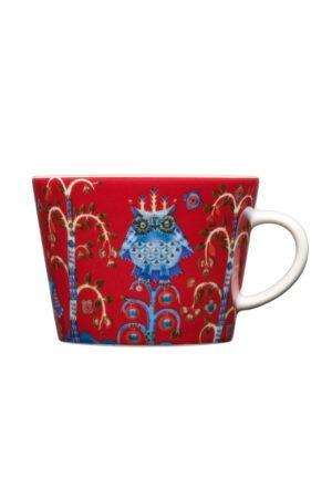 Iittala Taika Koffie/Cappuccinokop - 0,2 l - Rood